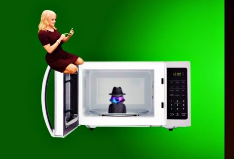Maybe Microwaves can be hacked but turn them into cameras? Nah