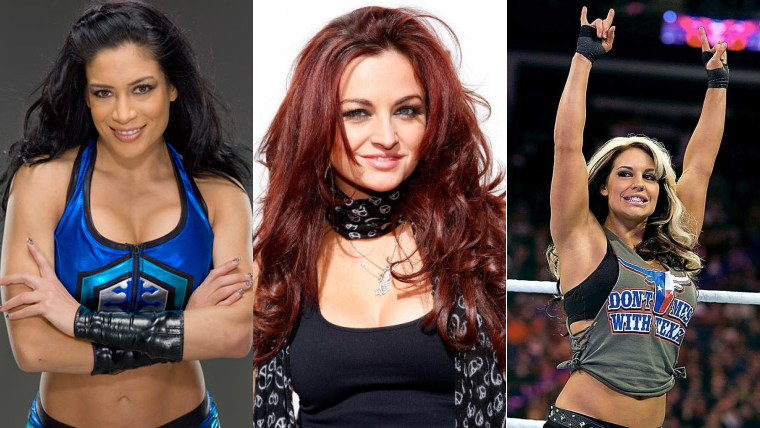 X-Rated Photos of WWE Divas Maria, Melina and Kaitlyn Leaked