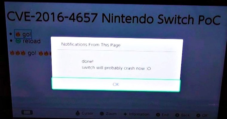 Nintendo Switch Can Be Hacked, Thanks to iOS 9.3 Webkit Exploit