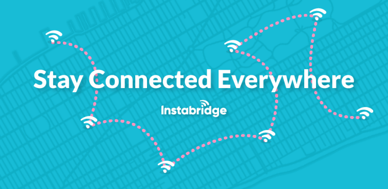 Access Password protected WiFi hotspots for free with Instabridge App