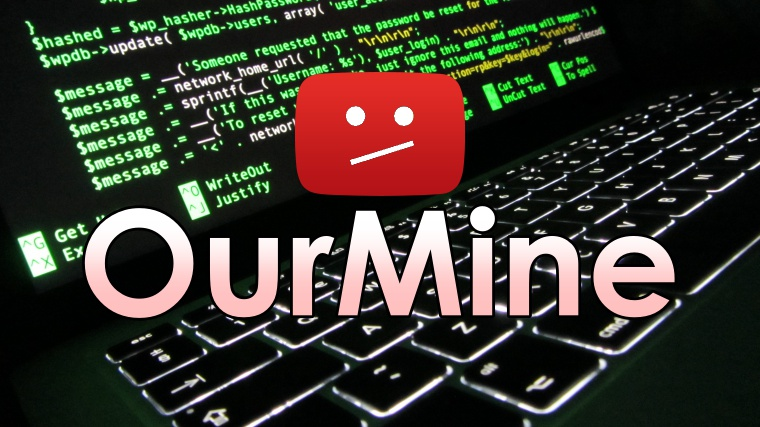 OurMine strikes again, hundreds of popular Youtube accounts hacked