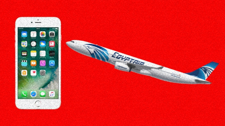 iPhone – the likely cause of the EgyptAir Flight 804 crash