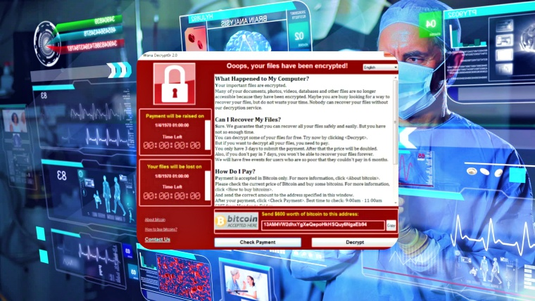 WannaCry responsible for infecting medical devices