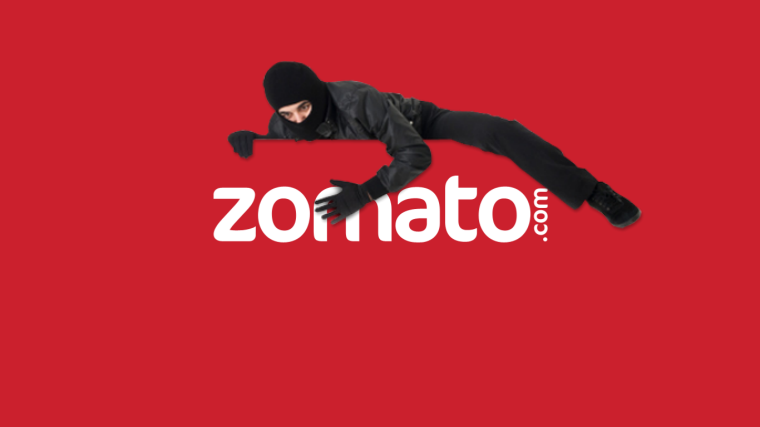 Zomato Hacked; 17 Million Accounts Sold on Dark Web