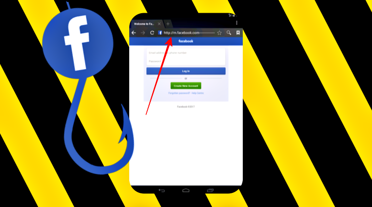 URL Padding: Facebook Mobile Users Hit by Phishing Scam