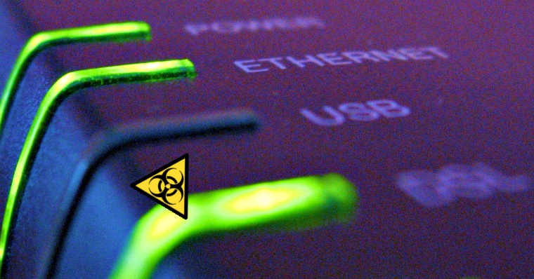 Hackers can steal large amount of data using router's LEDs