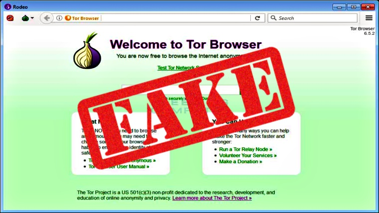 "Beware – ""Fake Tor Browser Rodeo"" Scamming Unsuspecting Users"