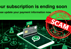 Fake WhatsApp Subscription Email Stealing Banking Data