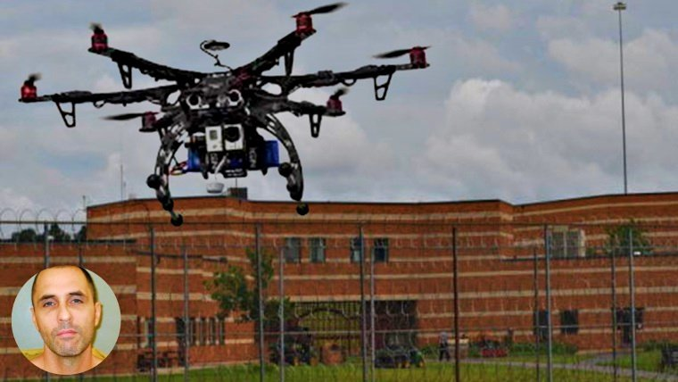 Prisoner Uses Drones and Cell Phones to Escape
