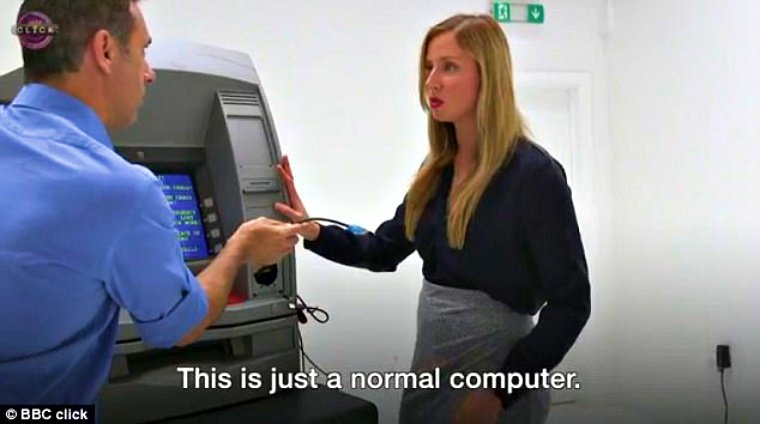 Watch Security Researcher As She Hacks ATM by Drilling a Hole
