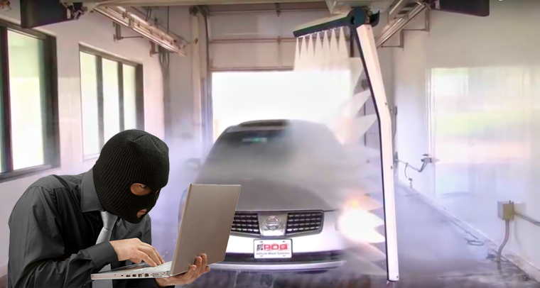 Hackers can take over Car Wash, trap you and smash your vehicle