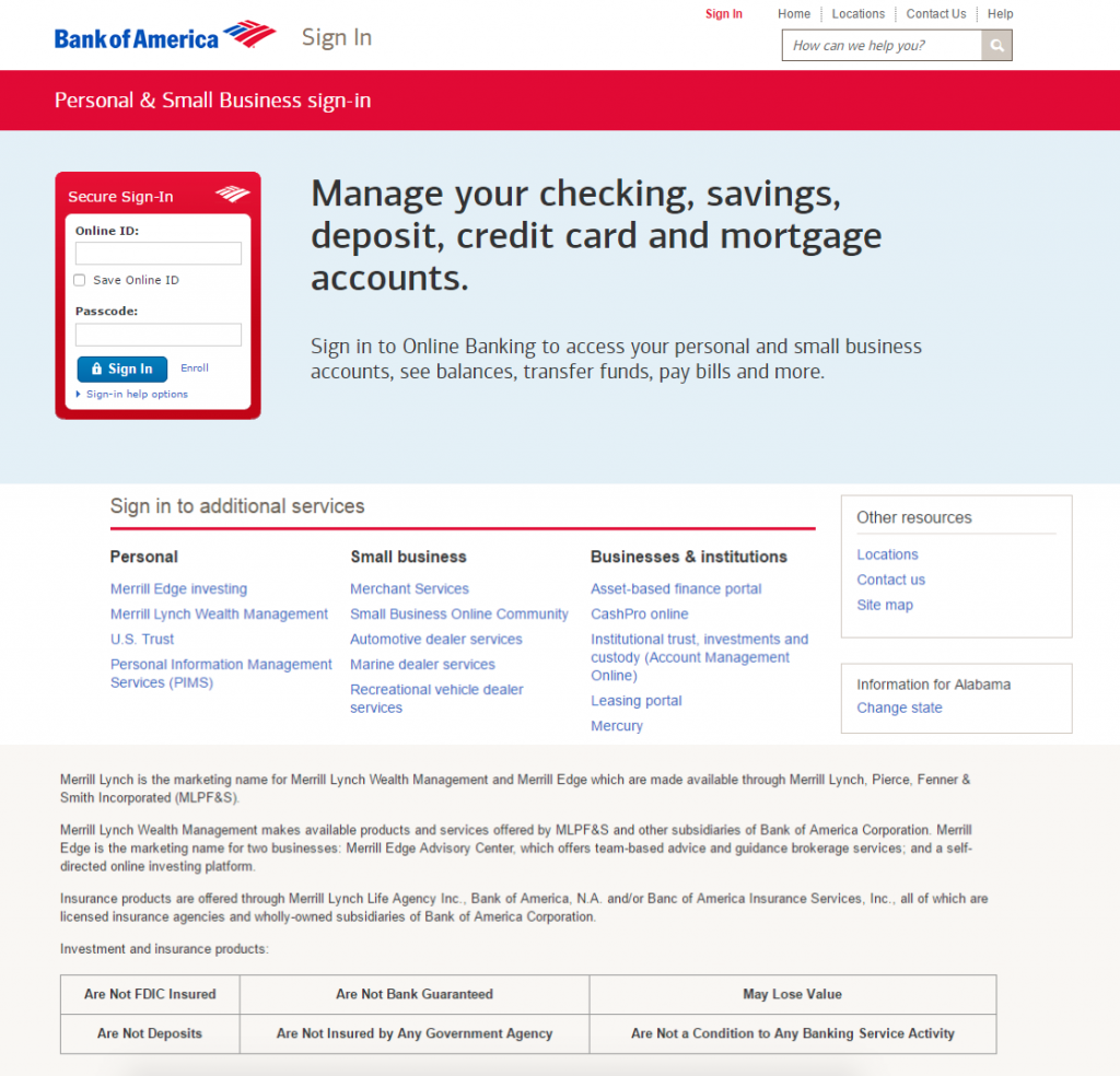 Beware New Bank Of America Phishing Scam Stealing Card Data