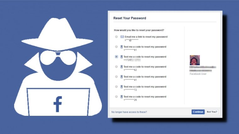 Your Old Phone Number Can Be Used To Hack Facebook Account