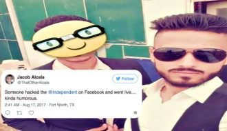 Man hacks top British News platform to get social media followers