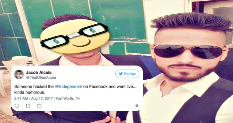 Man hacks top British News platform to get social media followers
