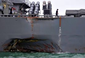 US Navy investigating whether its crashed ship was hacked (Updated)
