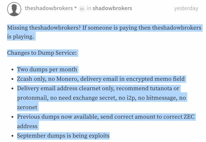 New NSA Data Dump: ShadowBrokers Expose UNITEDRAKE Malware