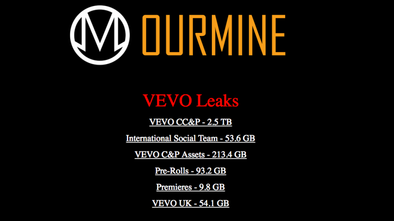 ourmine-hacks-video-hosting-service-vevo-leaks-3-12tb-data-online