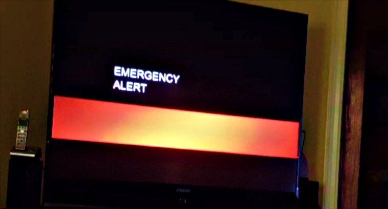"""TV broadcasts in California interrupted to show """"end of the world"""" alert"""