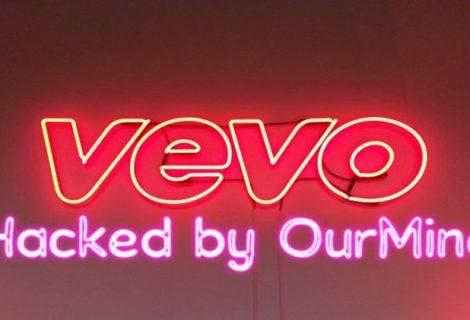 OurMine hacks video hosting service Vevo; leaks 3.12TB data online