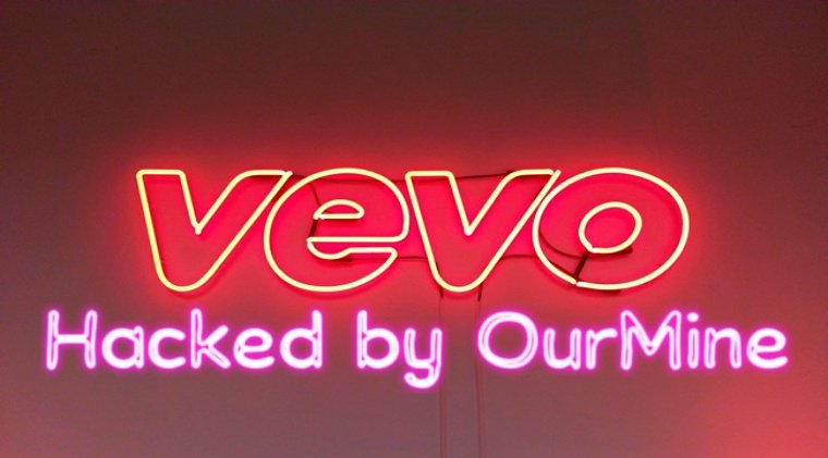 OurMine hacks video hosting service Vevo; leaks 3.12TB data online