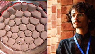 Pakistani Teen Shocks Scientist By Explaining Electric Honeycomb Phenomena