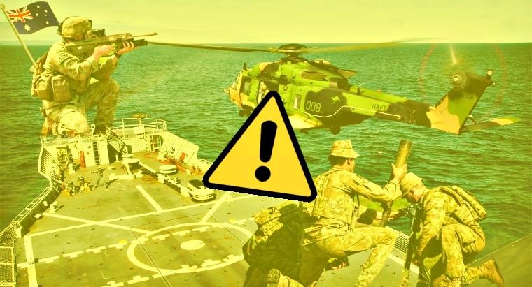 Sensitive Data of Australian Navy's Vessels and Fighter Jets stolen
