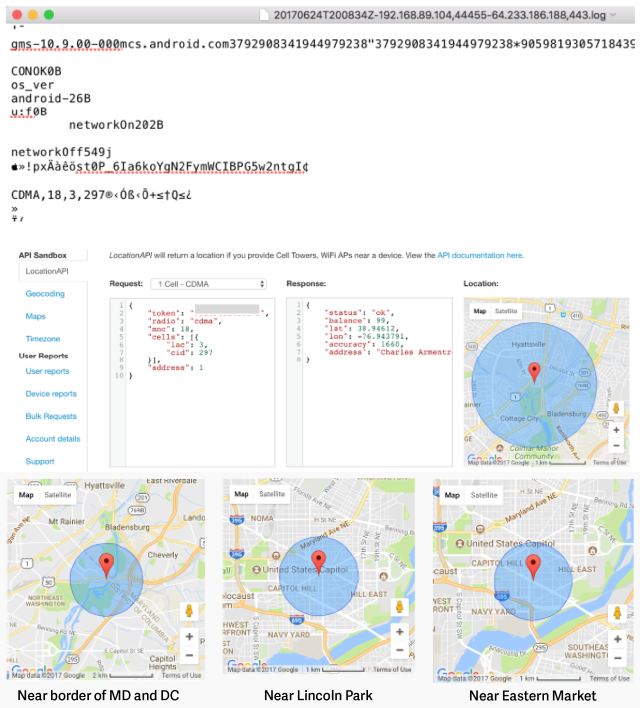 Google collects Android location data even if location services is off