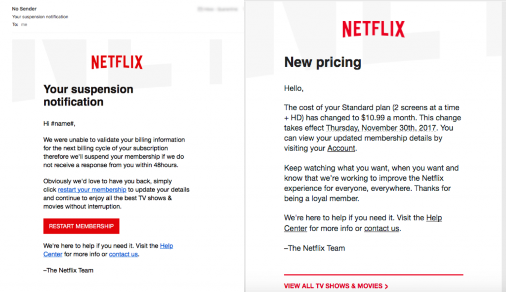 A sophisticated Netflix phishing scam is targeting millions of users
