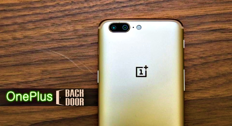 There is a Pre-Installed Backdoor in OnePlus 5, 3 and 3T Devices