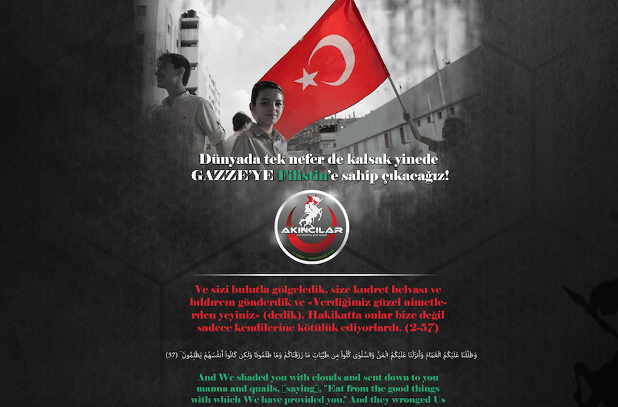 Turkish hackers deface Times of Israel website for Palestine