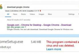Hackers using Google Adwords & Google Sites to spread malware