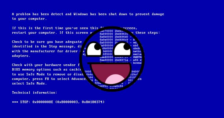 Malware display fake BSOD to sell phony Windows anti-virus for $25