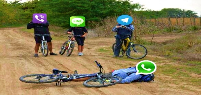 You are not alone, WhatsApp is down for many