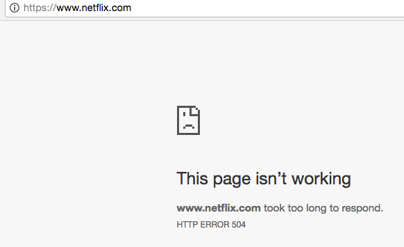 You are not alone Netflix is down for some and slow for many