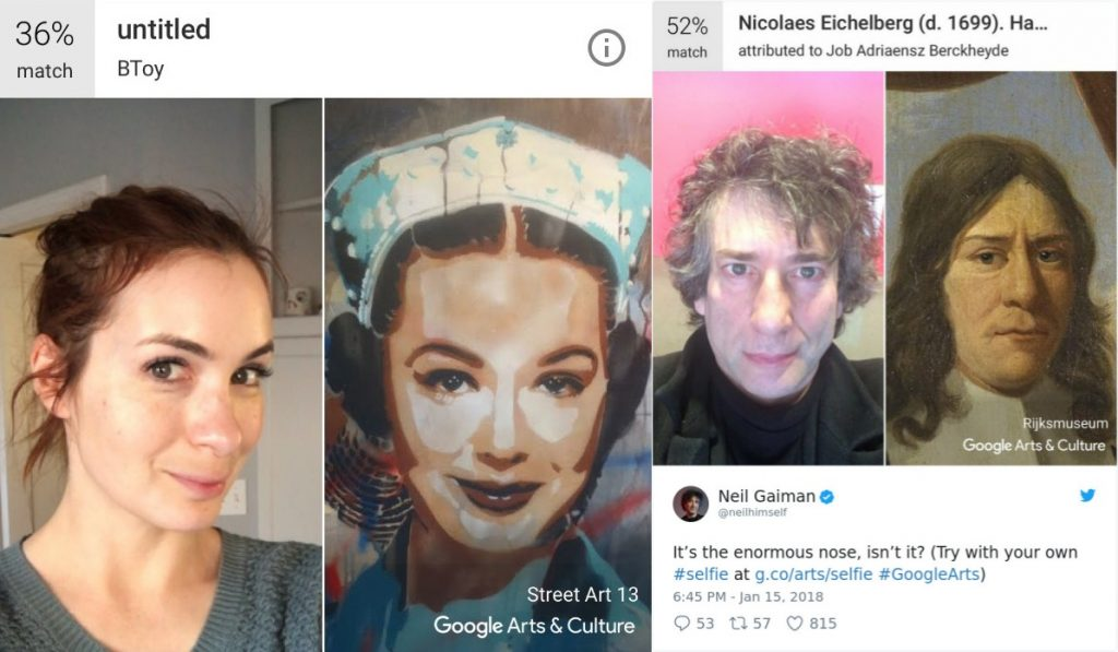 Google Denies Using Google Arts & Culture App to Collect Selfie Data
