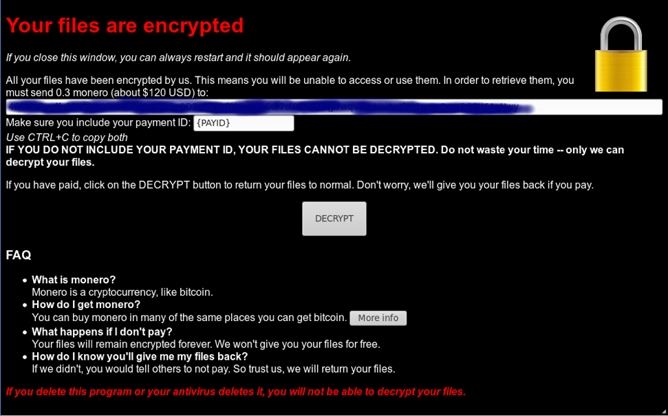 Fake SpriteCoin cryptocurrency ransomware also spies on users