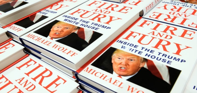 Pirated Version of Fire and Fury Book Loaded with Malware