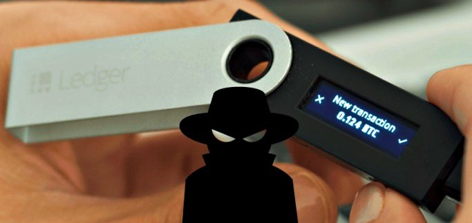 All Ledger hardware wallets vulnerable to man in the middle attack