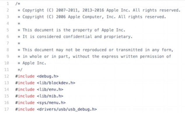 Apple's iBoot Baseband Code Leaked on GitHub