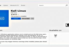 Download Kali Linux from Microsoft Store and use on Windows 10