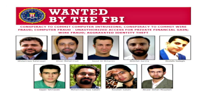 9 Iranian hackers charged with hacking universities & stealing secrets