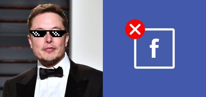 Elon Musk deletes Tesla & Space X Facebook pages for #DeleteFacebook