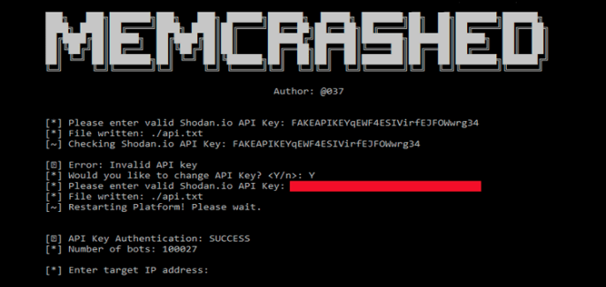 Memcached DDoS AttackPoC Code &17,000 IP addresses Posted Online