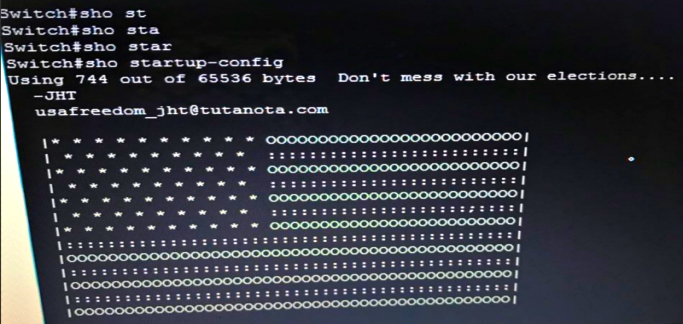 Hackers leave US flag after targeting Cisco switches in Russia & Iran