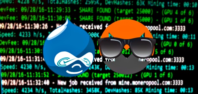 Critical Vulnerability in Drupal CMS Used for Cryptomining