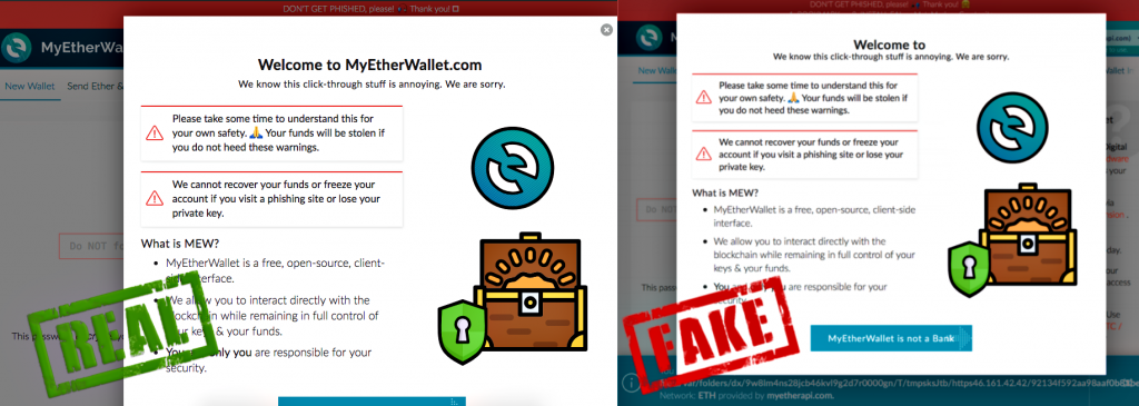 Meet MEWKit, a tricky phishing attacks draining Ethereum wallets
