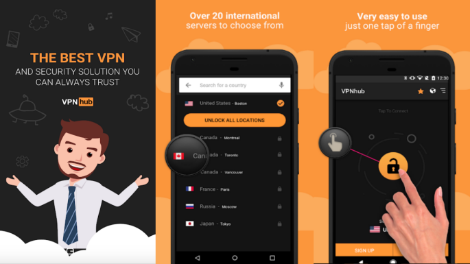 Pornhub's free VPNhub is a free VPN for everyone