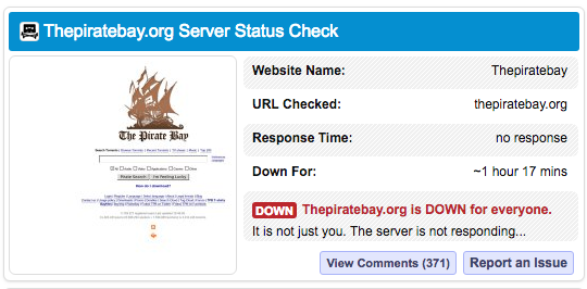 You are not alone; The Prate Bay is down around the world  - you are not alone twitter is down around the world 1 - You are not alone; The Pirate Bay is down around the world