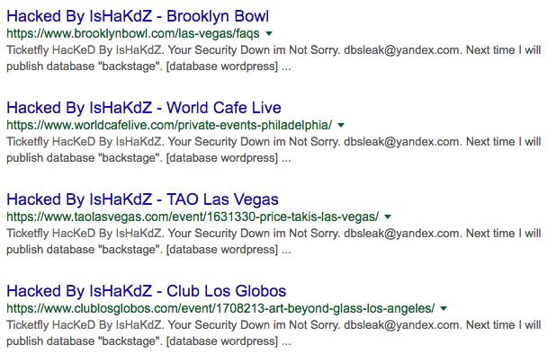 Ticketfly website hacked & offline after hacker leaks customer data
